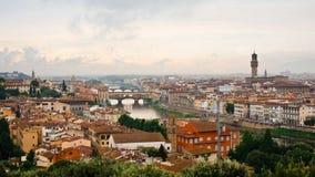 Cidade velha Florença Fotos de Stock