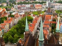 Cidade velha, Gdansk Imagens de Stock Royalty Free