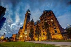 Cidade velha Hall& x28; Toronto& x29; Fotografia de Stock Royalty Free