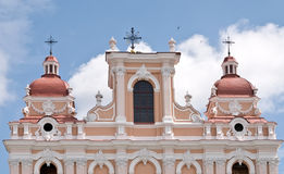 Cidade velha. Igreja antiga Foto de Stock