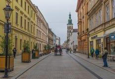 A cidade velha Krakow, Polônia fotografia de stock royalty free