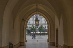 A cidade velha Krakow, Polônia imagens de stock royalty free