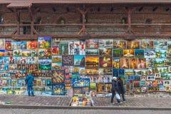 A cidade velha Krakow, Polônia imagem de stock royalty free