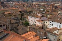 Telhados de Lucca Imagem de Stock Royalty Free