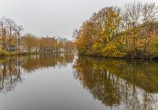 A cidade velha maravilhosa de Amsterdão, Netherland imagem de stock