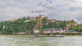 A cidade velha maravilhosa de Koblenz imagens de stock royalty free
