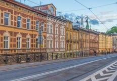A cidade velha maravilhosa de Krakow, Polônia imagem de stock