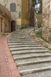 A cidade velha maravilhosa de Perugia, Itália fotografia de stock