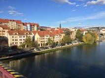 Cidade velha - Maribor, Eslovênia imagem de stock royalty free