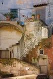 Cidade velha Matera Basilicata Apulia ou Puglia Italy imagem de stock royalty free