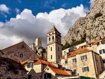 Cidade velha Omis Fotos de Stock Royalty Free