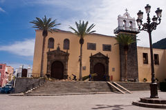 Cidade velha pequena de Tenerife Fotos de Stock