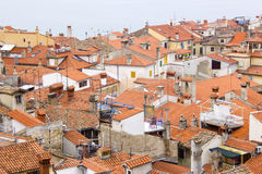 Cidade velha Piran Imagem de Stock