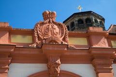 Cidade velha portal de Bayreuth - castelo velho imagem de stock royalty free