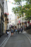 Cidade velha, porto de St Peter guernsey Foto de Stock Royalty Free