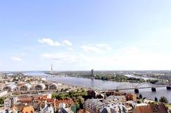 Cidade velha (Riga, Latvia) Fotografia de Stock Royalty Free