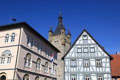 Cidade velha ruim de Wimpfen fotos de stock royalty free