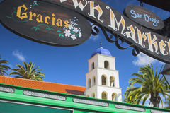 Cidade velha San Diego Imagens de Stock Royalty Free