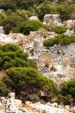 Cidade velha Sunken Fotografia de Stock Royalty Free