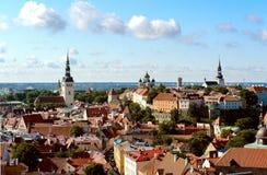Cidade velha (Tallinn, Estonia= Fotos de Stock