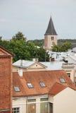 Cidade velha Tartu, Estônia Foto de Stock