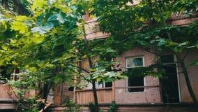 Cidade velha Tbilisi, Geórgia video estoque
