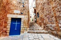 Cidade velha Tel Aviv, Israel imagem de stock