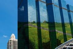 Cidade verde, conceitos imagens de stock royalty free