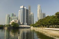 Cidade verde das torres Fotografia de Stock Royalty Free