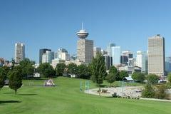 Cidade verde moderna Fotos de Stock Royalty Free