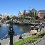 Cidade vibrante Fotos de Stock Royalty Free
