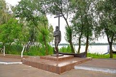 A cidade Vilkovo do turista ? uma cidade na ?gua A cidade nos bancos do Danube River 10 de junho de 2011, regi?o de Odessa fotografia de stock