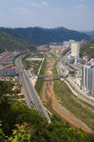 Cidade yanan shanxi China de Ansai Fotografia de Stock