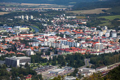 Cidade Zvolen, Eslováquia Foto de Stock Royalty Free