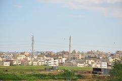 Cidades árabes em Israel Foto de Stock Royalty Free