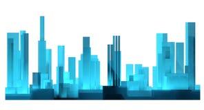 cidades ilustração royalty free