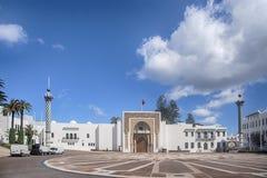 Cidades bonitas em Marrocos do norte, Tetouan fotografia de stock
