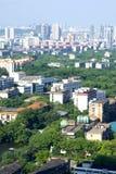 Cidades chinesas fotografia de stock royalty free