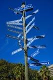 Cidades da irmã de Los Angeles Imagens de Stock Royalty Free