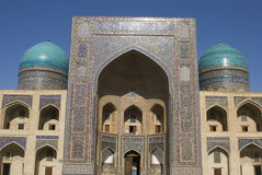 Cidades de Ásia central imagens de stock