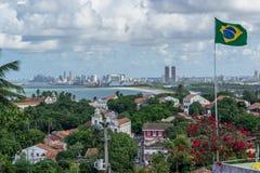 Cidades de Brasil - Olinda, estado de Pernambuco Fotografia de Stock