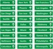 Cidades EUA Imagem de Stock