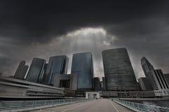 Cidades no problema - propriedade Mkt no problema imagens de stock royalty free