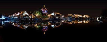Cidades-shantang antigas suzhou da água Fotos de Stock
