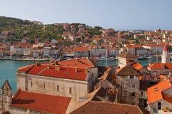 Cidades típicas em Croatia. Imagem de Stock Royalty Free