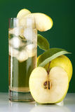 Cider and apple stock images