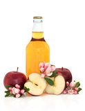 Cider, Apples and Flower Blossom Royalty Free Stock Photography