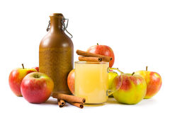 Cider isolated Stock Photography