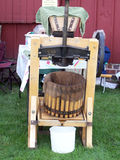 Cider Press. Old Fashioned Cider Press Royalty Free Stock Photo