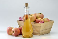 Cider vinegar Royalty Free Stock Image